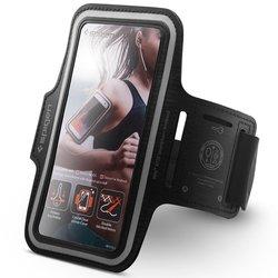 Husa Alergare Pentru Telefon, Spigen Sports Armband A700 - Negru