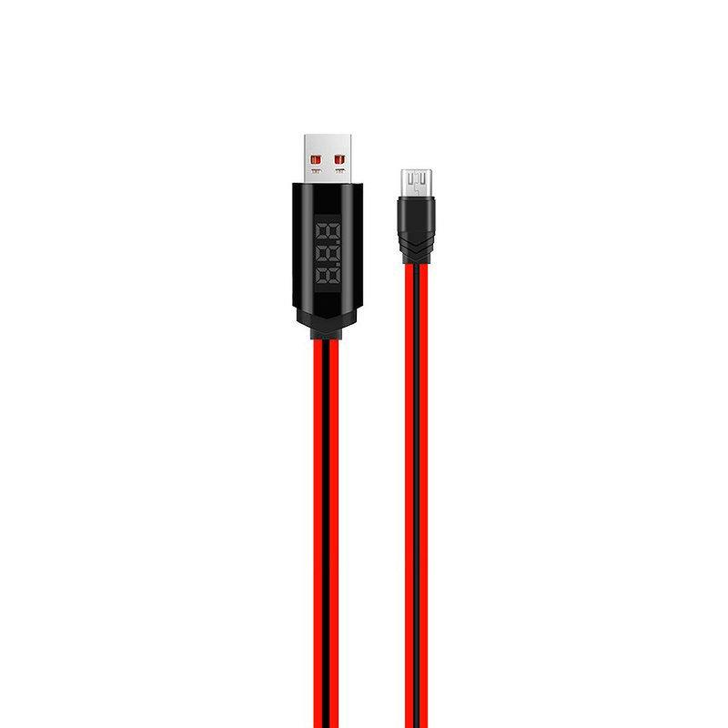 Cablu de date Micro-USB Hoco U29 1.2M 2.0A - Rosu