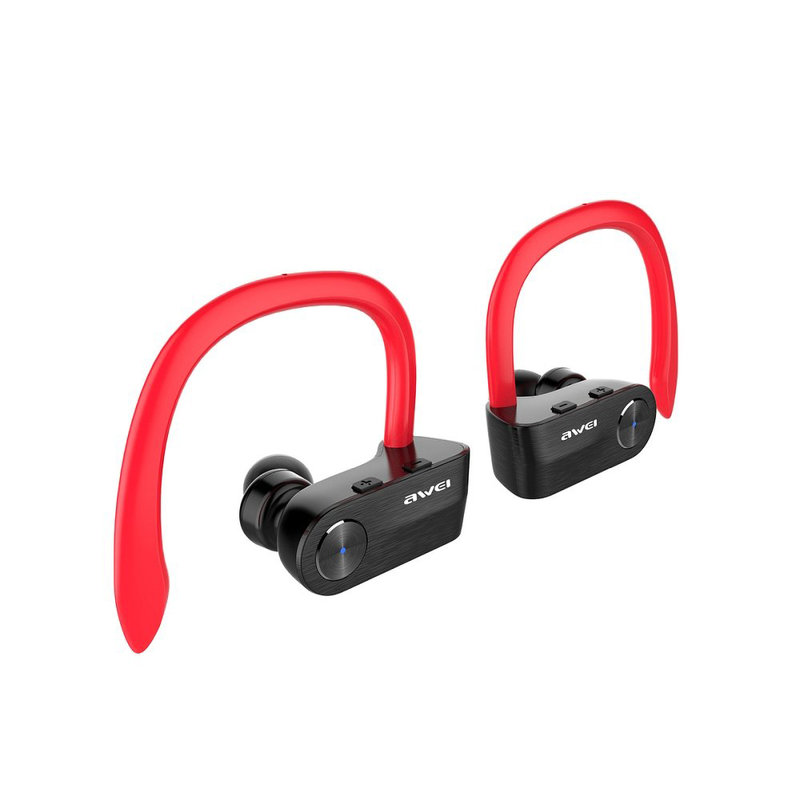 Casti Wireless Cu Microfon Awei Tws T2 Dual Truck - Red