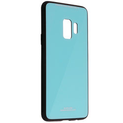 Husa Samsung Galaxy S9 Glass Series - Albastru