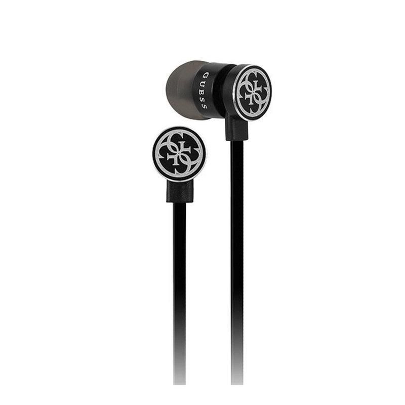 Casti De Telefon In-Ear Sport Bluetooth Cu Microfon Guess GUEPBTBK - Negru