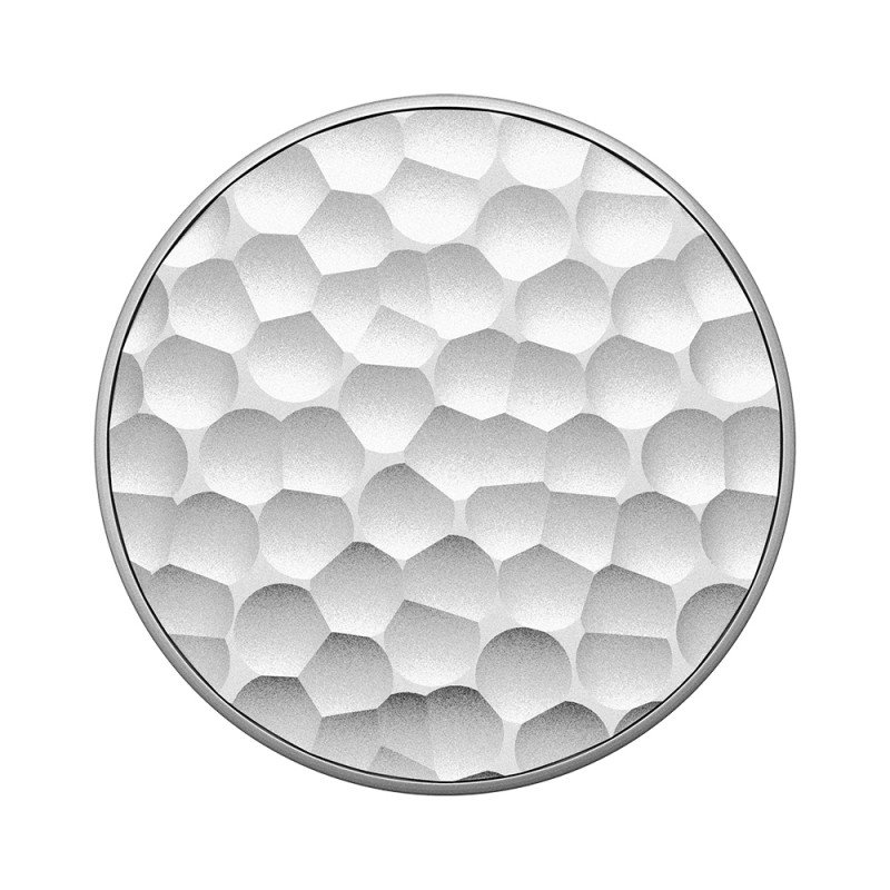 Popsockets Original, Suport Cu Functii Multiple - Hammered Metal Silver