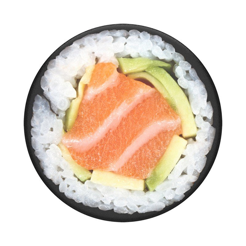 Popsockets Original, Suport Cu Functii Multiple - Salmon Roll