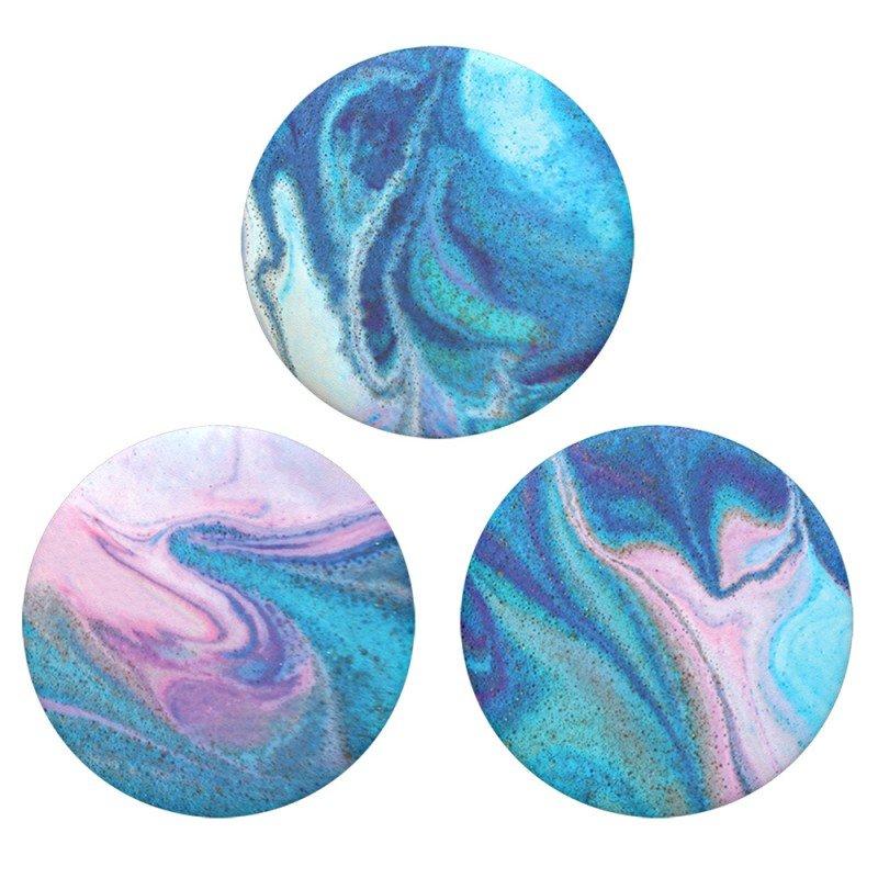 Popsockets Original, Suport Cu Functii Multiple - Popminis Blue Nucolor Bombs