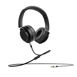 Casti On-Ear Wired Foldable Recci REH-A02 DeepSound  - Negru