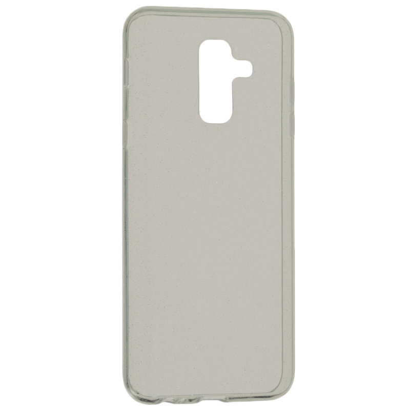 Husa Samsung Galaxy A6 Plus 2018 Silicon Crystal Glitter Case - Fumuriu