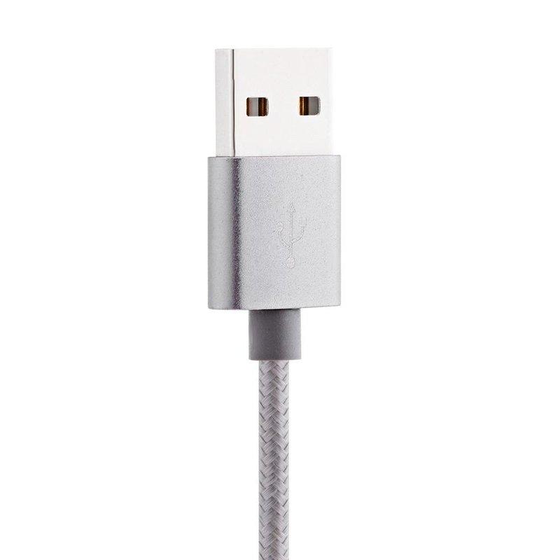 Cablu de date AWEI CL-930 2 in 1 Lightning /Micro USB - Gri