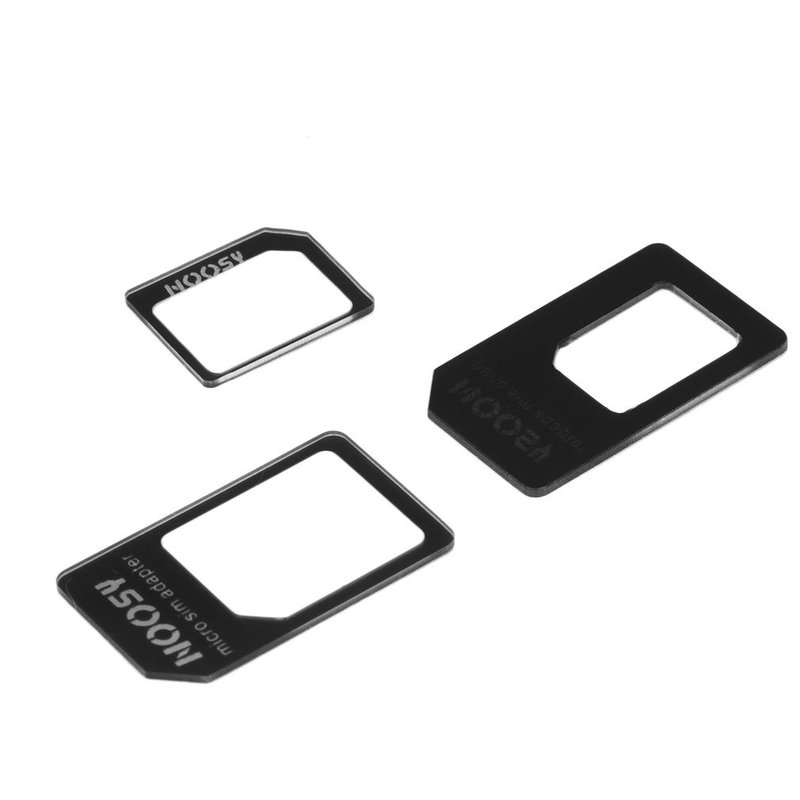 Adaptor Nano SIM All in One pentru Micro SIM Mobster Unlimited Innovation - Black