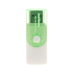 Card Reader All in One USB 2.0 - Verde
