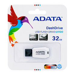 Stick Memorie ADATA DashDrive UV100 32GB - White
