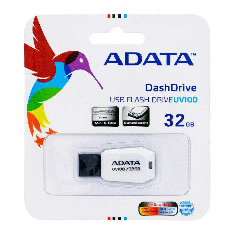 Stick Memorie ADATA DashDrive UV100 32GB - White