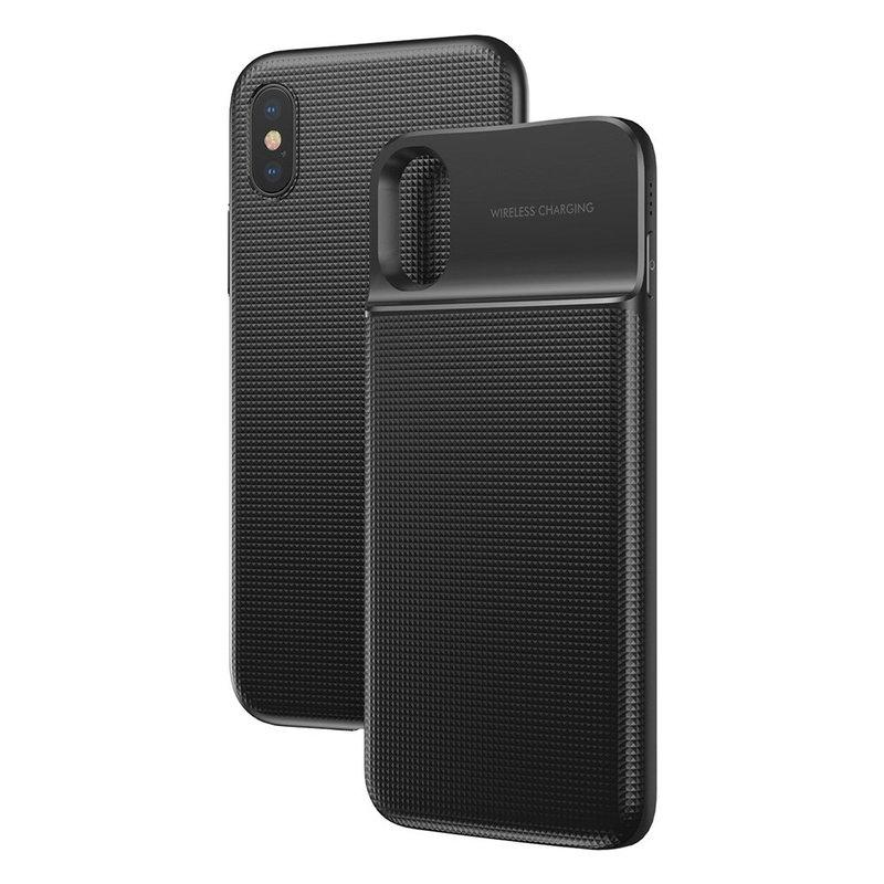 Incarcator Wireless Portabil Iphone X Baseus Backpack 1+1 5000mAh - Black