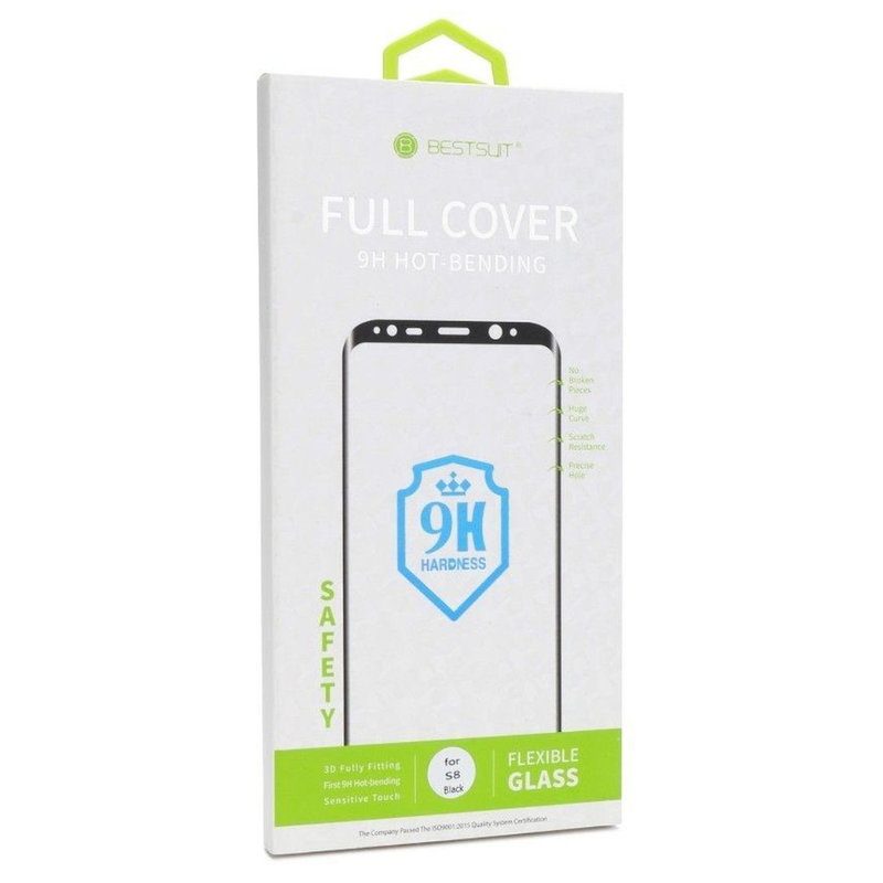 Folie Sticla Flexibila Samsung Galaxy Note 9 Bestsuit Fullcover Hot Bending - Black