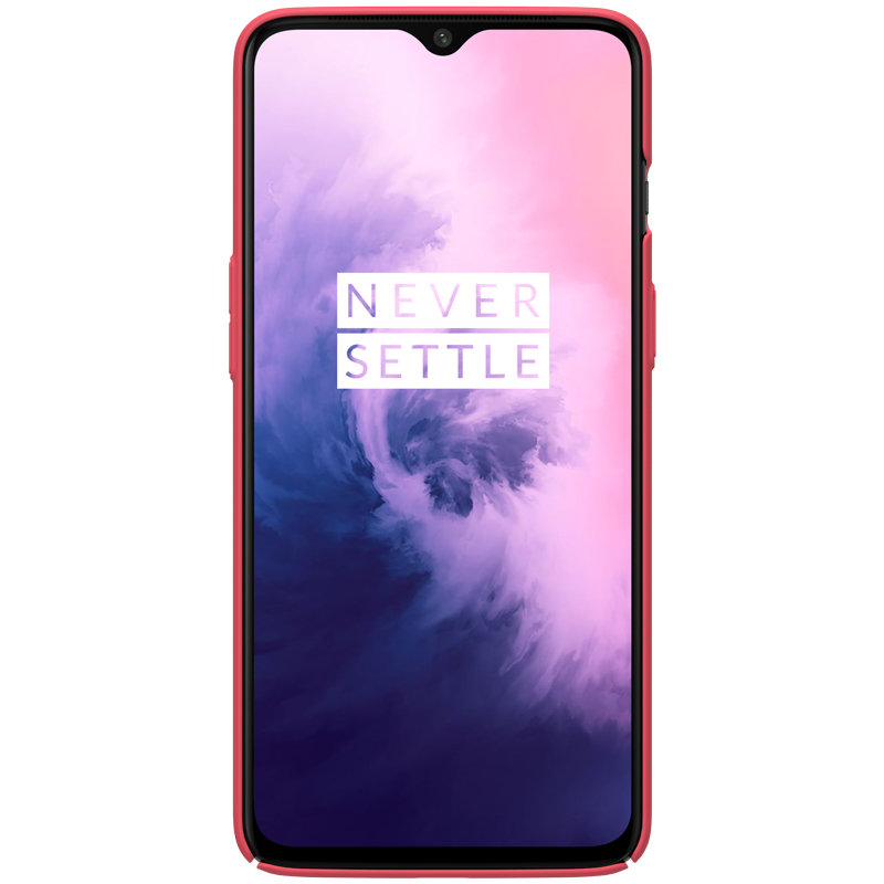 Husa OnePlus 7 Nillkin Frosted Red