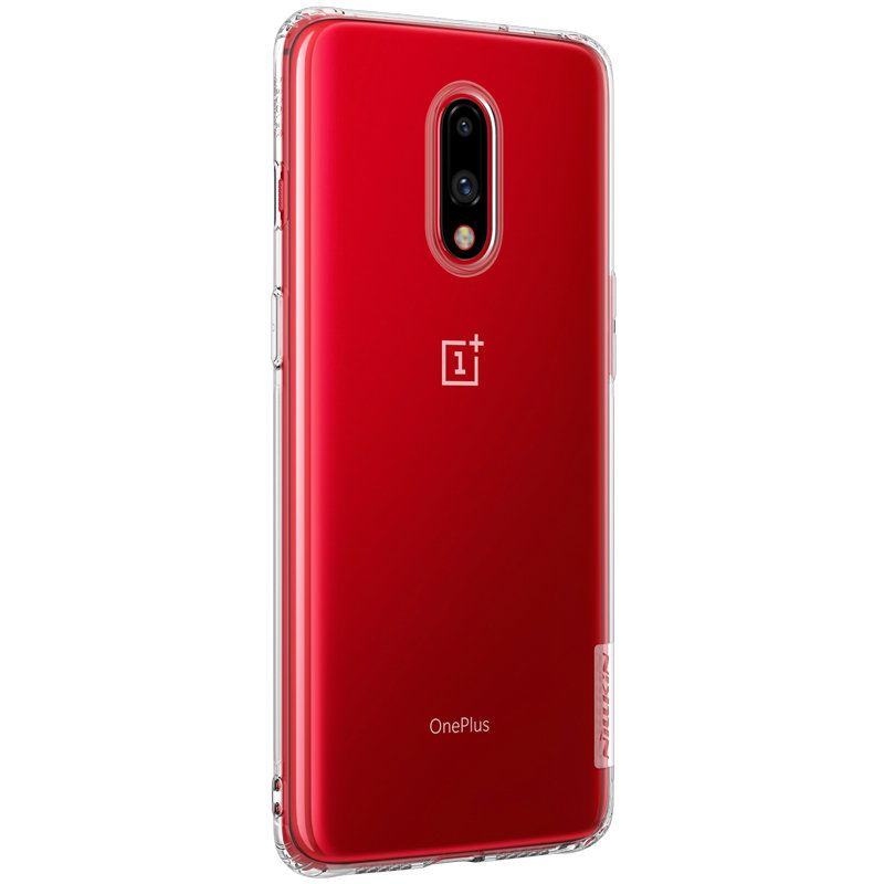 Husa OnePlus 7 Nillkin Nature UltraSlim Transparent
