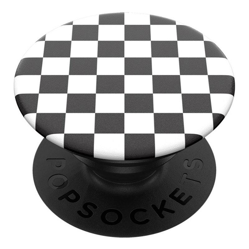 Popsockets Original, Suport Cu Functii Multiple - Checker Black