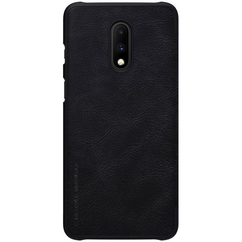 Husa OnePlus 7 Flip Nillkin QIN Negru