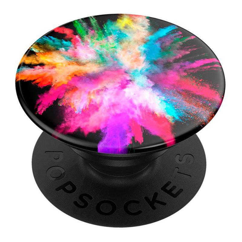 Popsockets Original, Suport Cu Functii Multiple - Color Burst