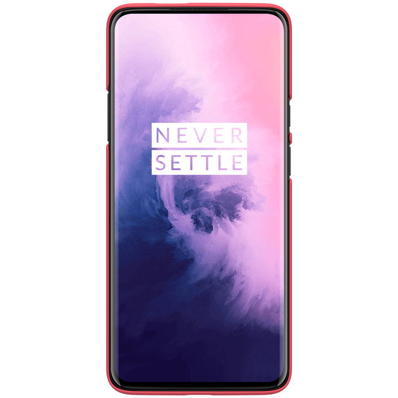 Husa OnePlus 7 Pro Nillkin Frosted Red