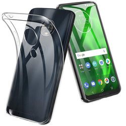 Husa Motorola Moto G7 Plus TPU Mobster - Transparent