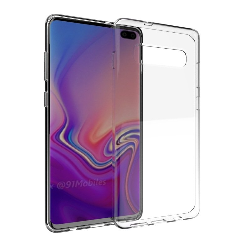 Husa Samsung Galaxy S10 TPU Mobster - Transparent
