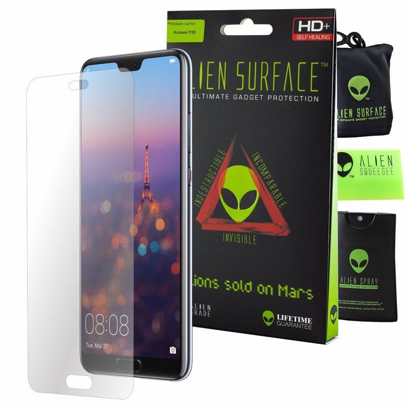 Folie Regenerabila Huawei P20 Alien Surface XHD, Full Face - Clear