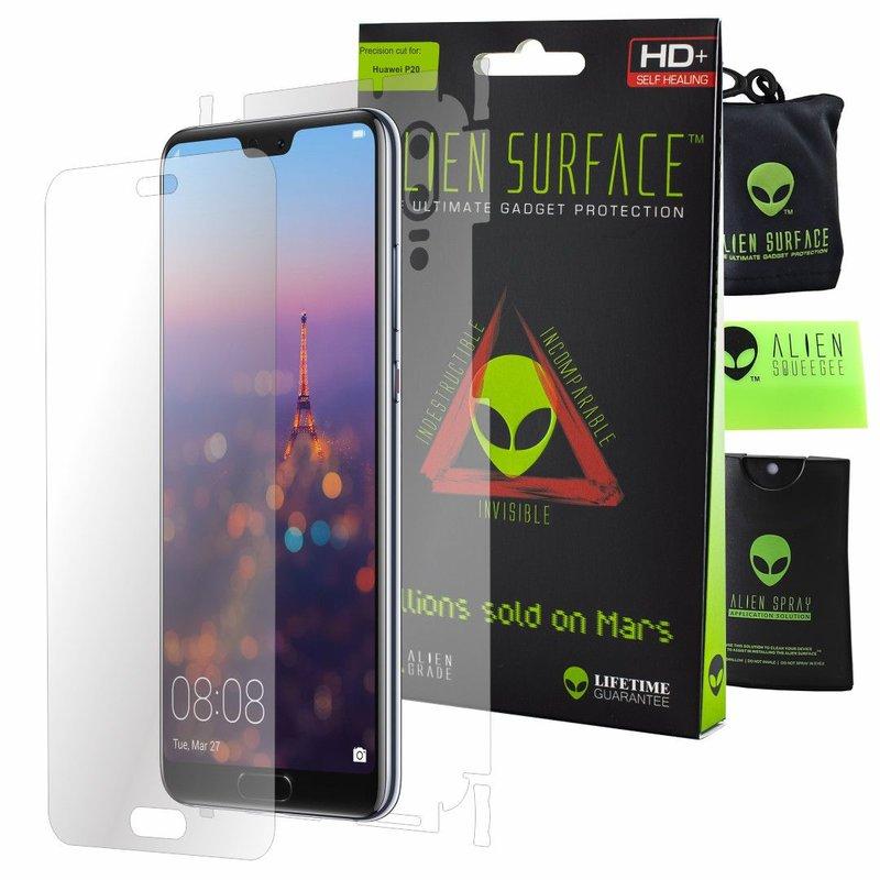 Folie 360° Huawei P20 Alien Surface XHD, Ecran, Spate, Laterale - Clear