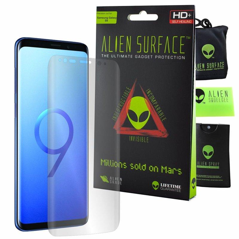 Folie Regenerabila Samsung Galaxy S9 Alien Surface XHD, Case Friendly - Clear