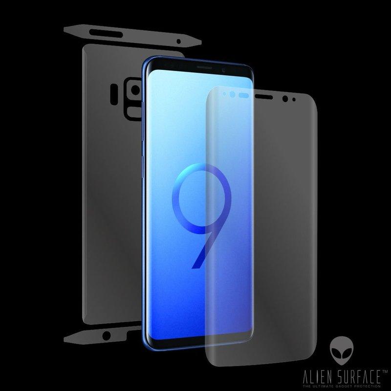 Folie 360° Samsung Galaxy S9 Alien Surface ecran, spate, laterale, camera - Clear