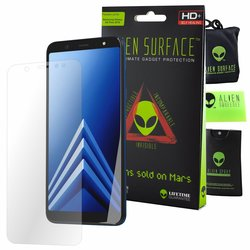 Folie Regenerabila Samsung Galaxy A6 Plus 2018 Alien Surface XHD, Case Friendly - Clear