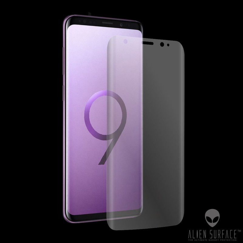 Folie Regenerabila Samsung Galaxy S9 Plus Alien Surface Case Friendly - Clear