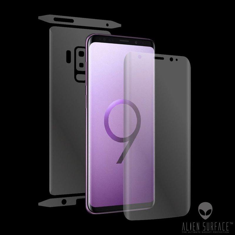 Folie 360° Samsung Galaxy S9 Plus Alien Surface ecran, spate, laterale, camera - Clear