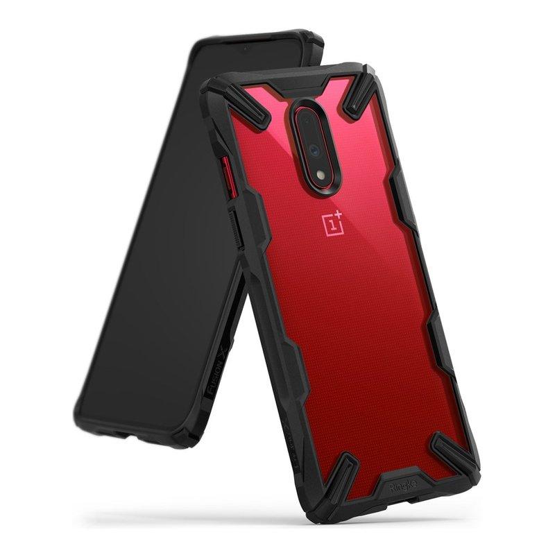 Husa OnePlus 7 Ringke Fusion X - Black