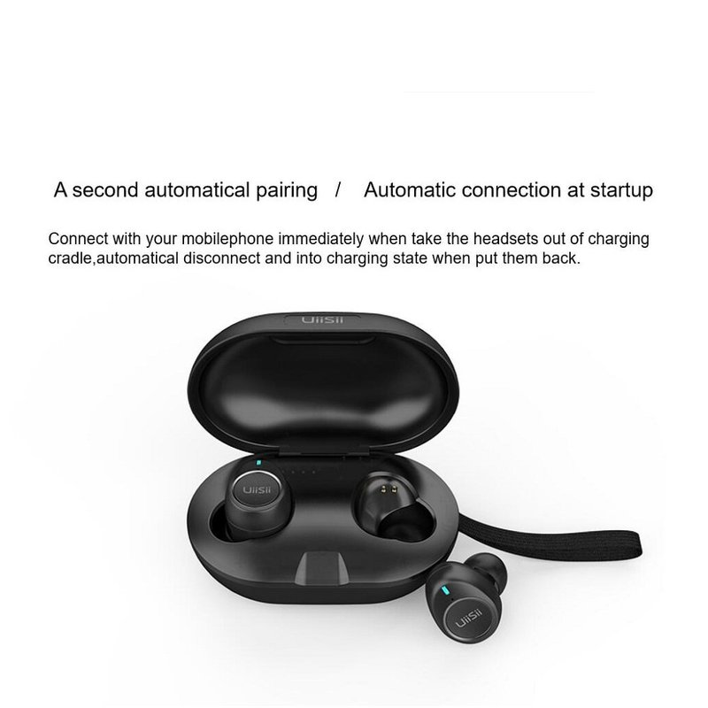 Casti In-ear True Wireless Stereo Uiisii TWS60 - Black