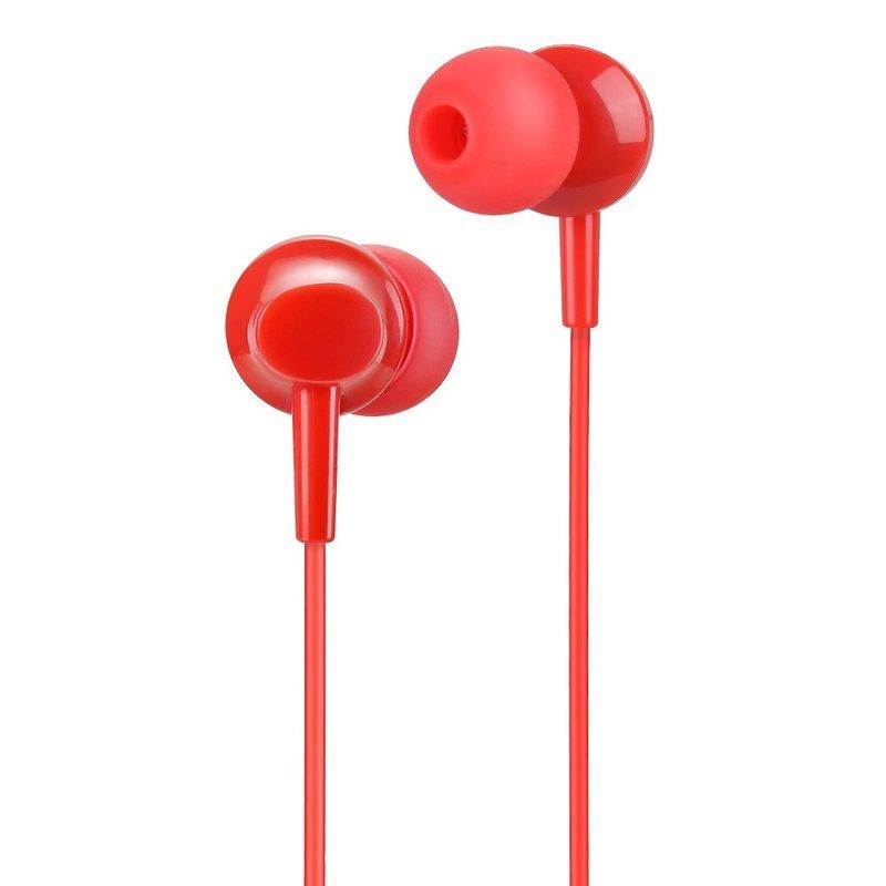Casti In-Ear Cu Microfon Hoco M14 - Rosu