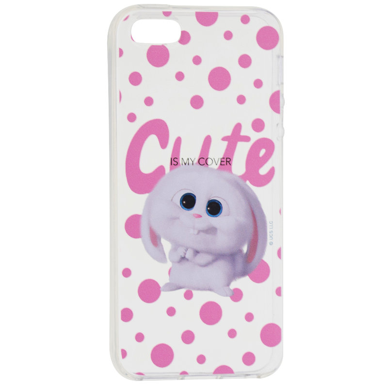 Husa iPhone 5 / 5s / SE Cu Licenta The Secret Life of Pets 2 - Snowball