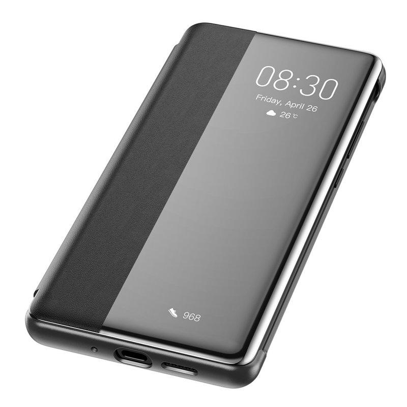 Husa Huawei P30 Pro Baseus Smart View Flip Cover with Smart Window - LTHWP30P-YP01 - Black