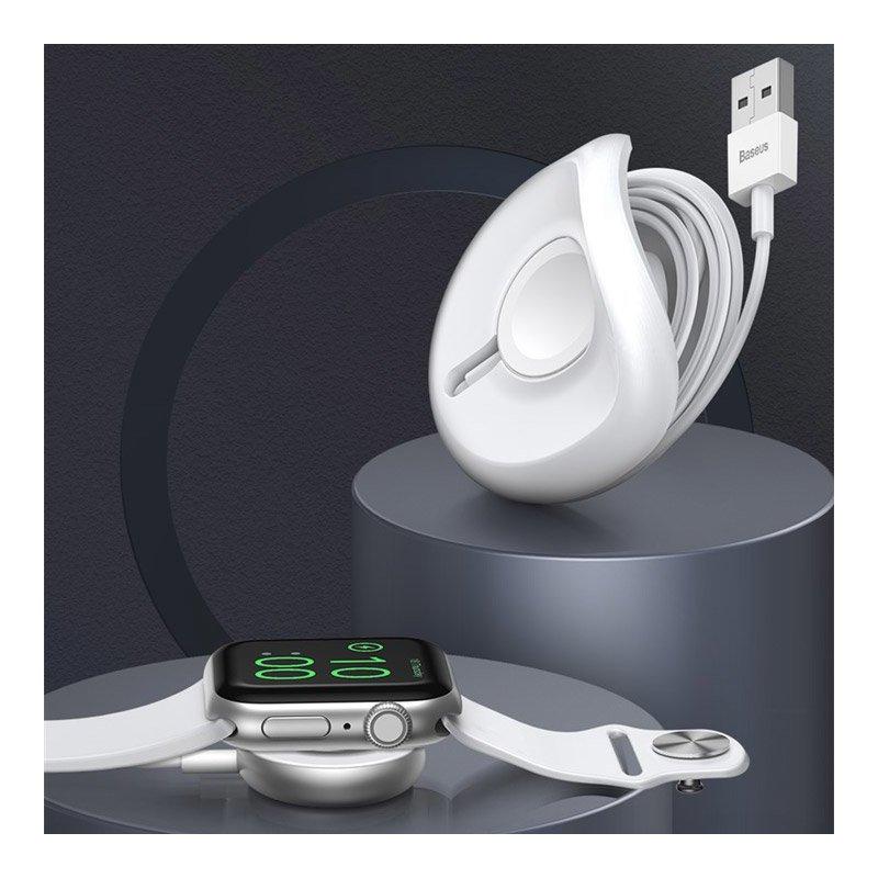 Incarcator wireless pentru Apple Watch, Baseus YOYO - WXYYQIW03-01 - Black
