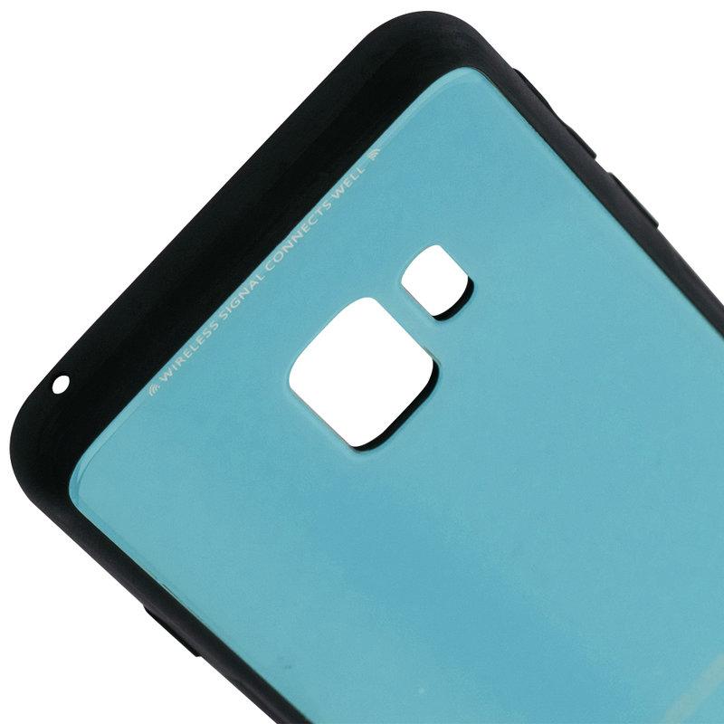 Husa Samsung Galaxy S9 Glass Series - Albastru