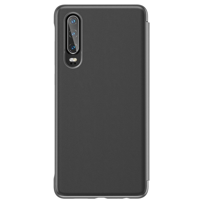 Husa Huawei P30 Baseus Smart View Flip Cover with Smart Window - LTHWP30-YP01 - Black