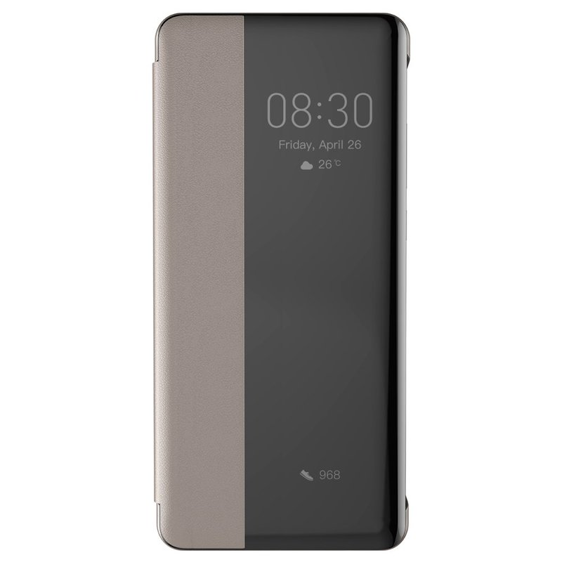 Husa Huawei P30 Baseus Smart View Flip Cover with Smart Window - LTHWP30-YP11 - Khaki
