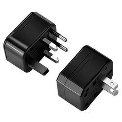 Adaptor Priza Hoco AC1 Universal - Negru