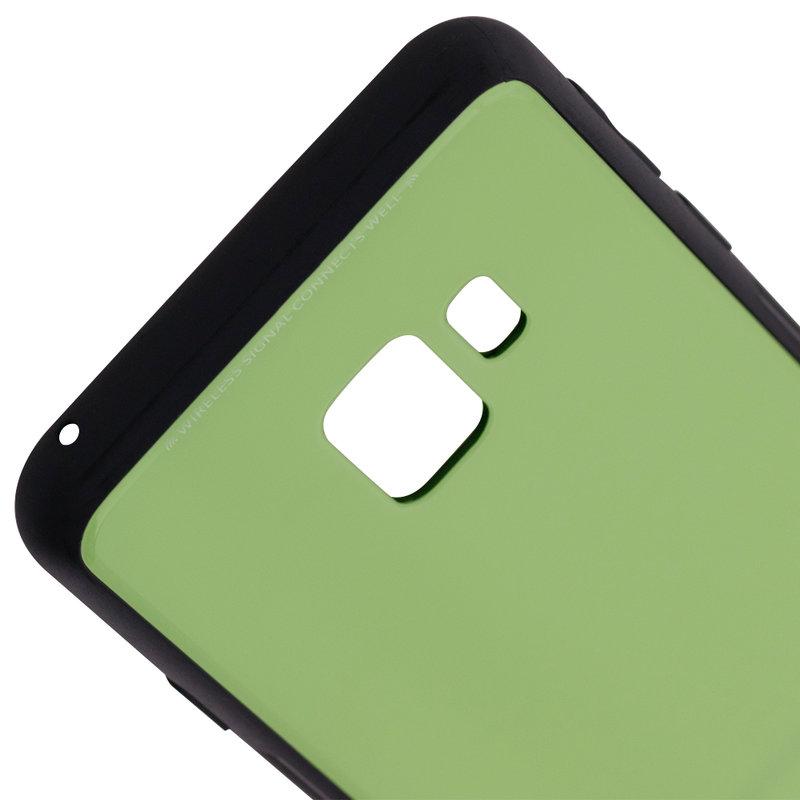Husa Samsung Galaxy S9 Glass Series - Verde