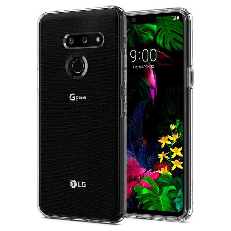 Husa LG G8 ThinQ Spigen Liquid Crystal - Clear