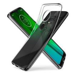 Husa Motorola Moto G7 Plus Spigen Liquid Crystal - Clear