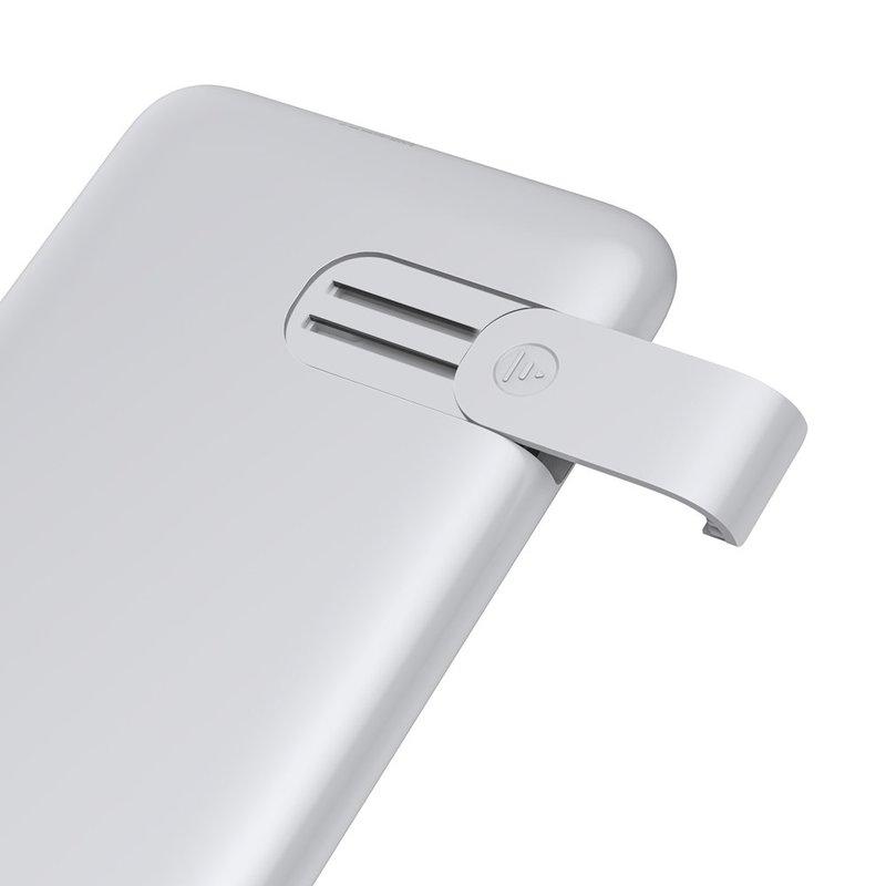 Baterie Externa Wireless 10000mAh Baseus S10 Bracket 18W - PPS10-02 - White