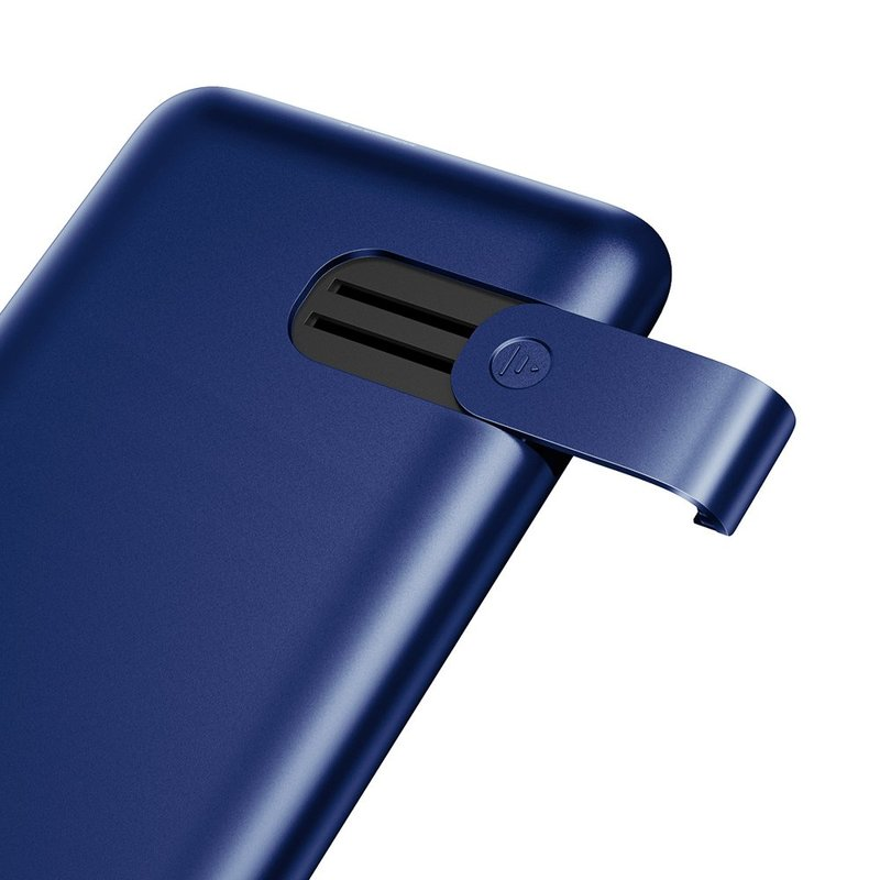 Baterie Externa Wireless 10000mAh Baseus S10 Bracket 18W - PPS10-03 - Blue