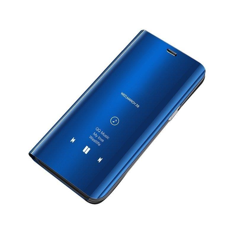 Husa Huawei Y6 2019 Flip Standing Cover - Blue