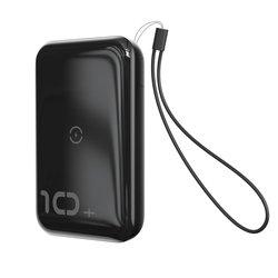 Baterie Externa Baseus 10000mAh 18W / Wireless Charger Qi 10W - PPXFF10W-01 - Negru