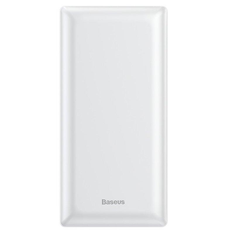 Baterie externa Baseus Mini JA Power Bank 20000 mAh USB/USB-C/micro-USB 3A - White PPJAN-B02